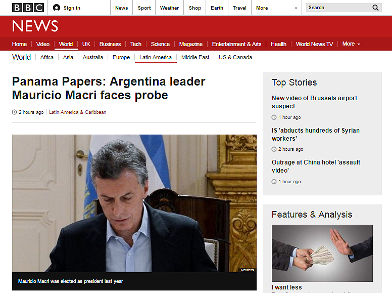 Macri-BBC-Panamá-Papers