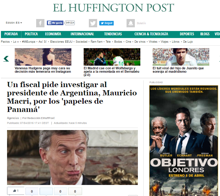 Macri-Huffington-Panama-papers