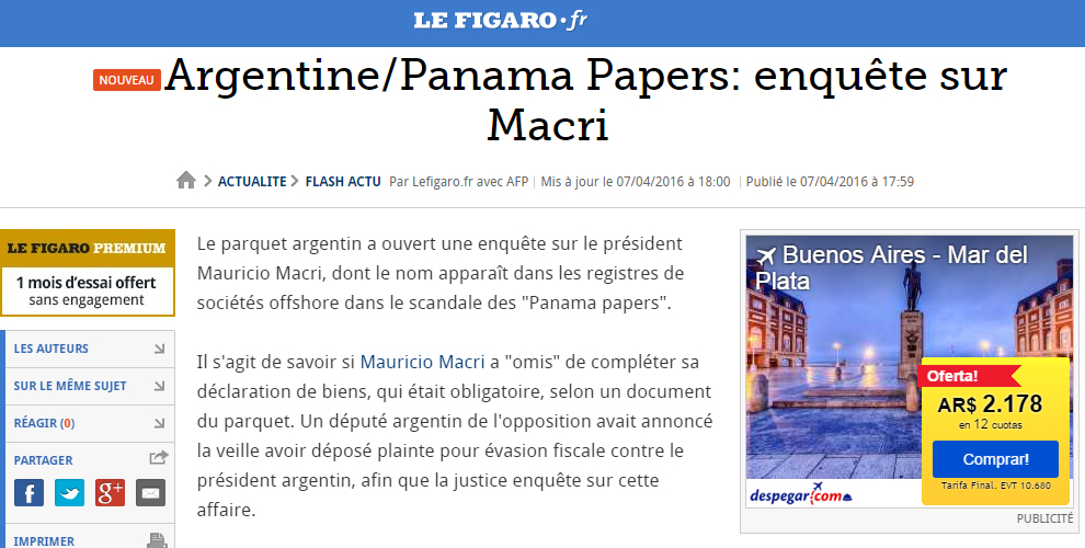 Macri-Le-Figaro-Panama-Papers