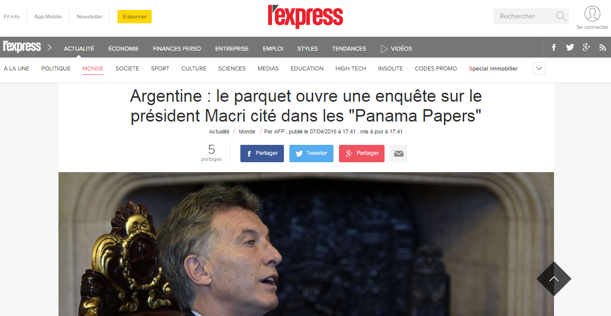 Macri-express-Panama-Papers